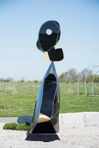 Viktor MITIC - Sculpture-Volume - Black