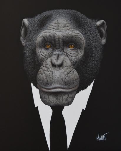 MANAT - Peinture - Mr Tsuboi