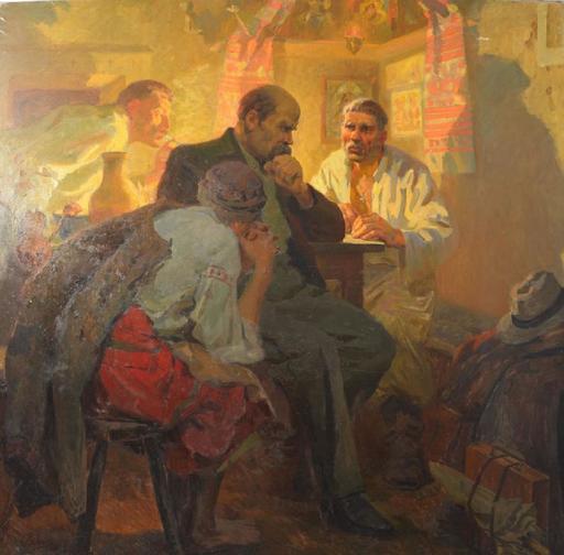 Evgeni Nisonovich LEVIN - Gemälde - Taras Shevchenko