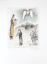 Marc CHAGALL - Print-Multiple - The appearance of King David