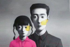 ZHANG Xiaogang - Estampe-Multiple - Big Family