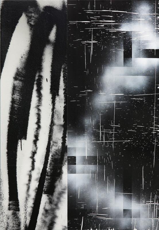 L'OUTSIDER - Peinture - Sensations accumulées #14
