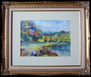 Louis BERTHOMMÉ-SAINT-ANDRÉ - Pintura - Paysage de Charente