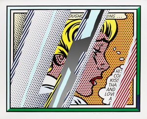 Roy LICHTENSTEIN, Reflections on Girl