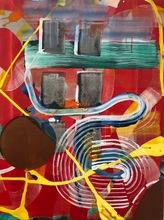 Juan USLÉ - Painting - Fighting for amnesia