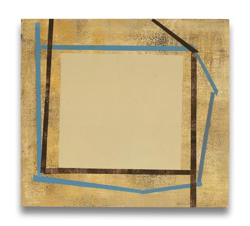 Elizabeth GOURLAY - Gemälde - Blue bistro ash 1
