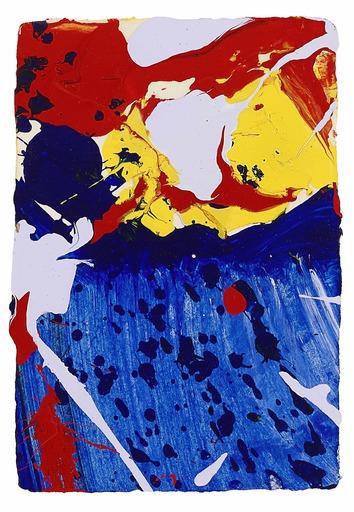 Sam FRANCIS - Painting - Sklye