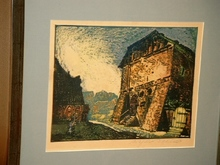 Arthur ILLIES - Grabado - Probstei Lüne