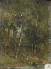 Narcisse Virgile DIAZ DE LA PEÑA - Painting - Sous-bois