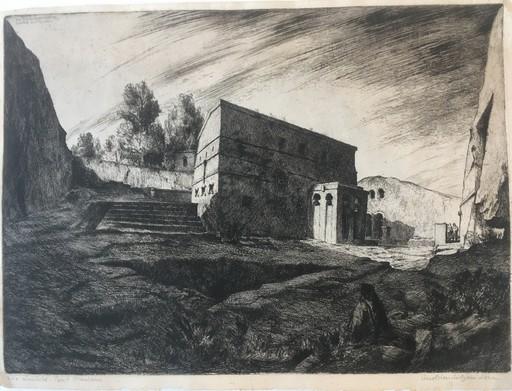 Lino BIANCHI BARRIVIERA - Estampe-Multiple - Lalibelà Biet Mariam