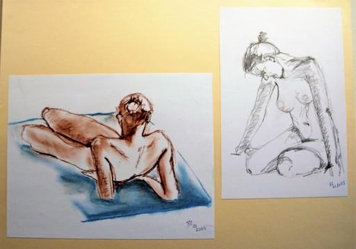 R.CAVALIÉ - Drawing-Watercolor - N.R. 149