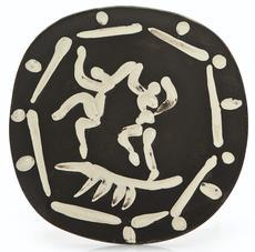 巴勃罗•毕加索 - 陶瓷  - Deux danseurs