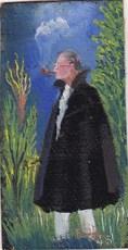 Elie LASCAUX - Pintura - Autoportrait (miniature)