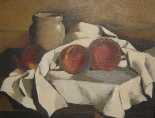 Manolo RUIZ PIPO - Painting - RUIZ PIPO NATURE MORTE