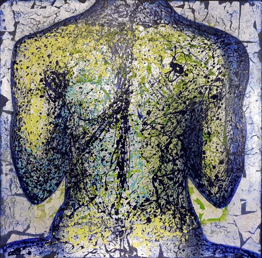 Corine LESCOP - Peinture - Hommage à Pollock