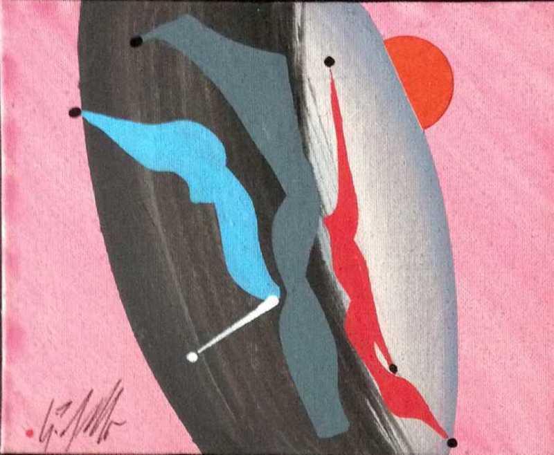 Sergio DANGELO - Peinture - Elegia