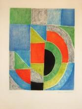 Sonia DELAUNAY-TERK - Estampe-Multiple - Untitled