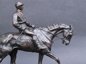 Pierre-Jules MÈNE - Escultura - Jockey vainqueur du Derby