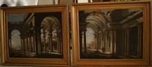 Viviano CODAZZI - Painting - Capriccio architettonico V. Codazzi ?