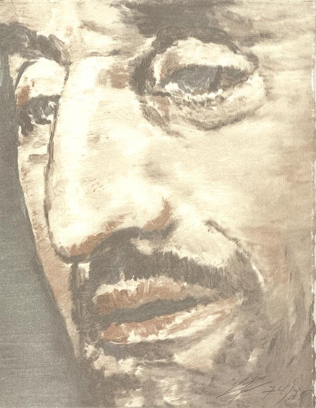 吕克•图伊曼斯 - 版画 - Nose