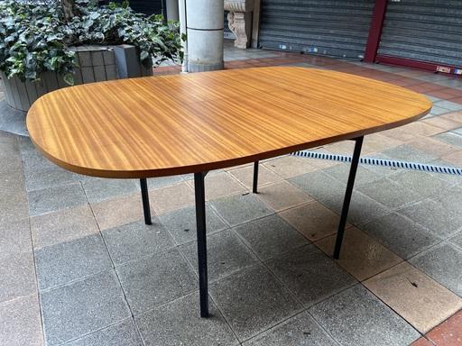 Pierre GUARICHE - Table de salle à manger à systems TRC 20