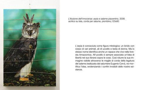 Antonella MAZZONI - Painting - Arpia e salame piacentino
