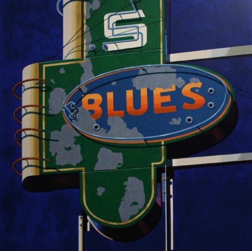 Robert COTTINGHAM - Print-Multiple - Blues
