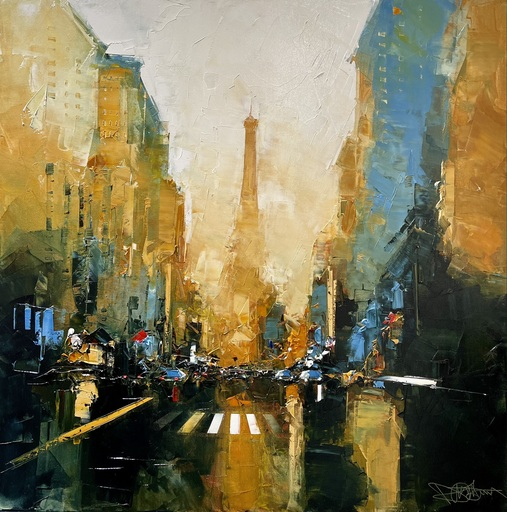 Daniel CASTAN - Peinture - Paris