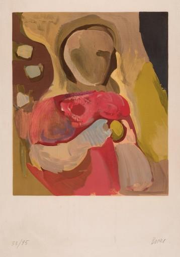Francisco BORES - Print-Multiple - Niña en rojo