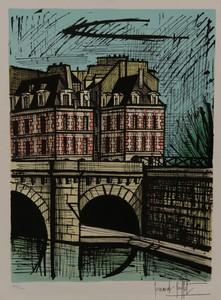 Bernard BUFFET - Estampe-Multiple - Le Pont Neuf