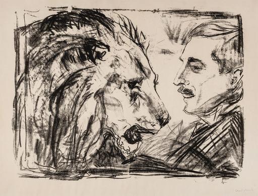 Edvard MUNCH - Print-Multiple - The Lion Tamer
