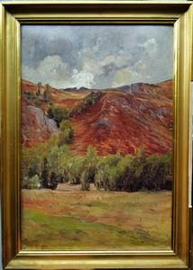 Edouard PAIL - Painting - vallée de la Creuse