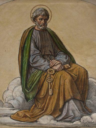 Leopold BODE - Disegno Acquarello - Petrus