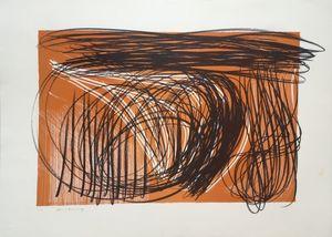 Hans HARTUNG - Estampe-Multiple - L 1971-1