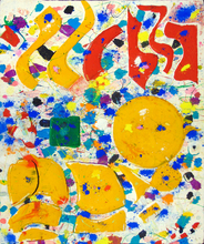 山姆•弗朗西斯 - 版画 - Untitled (SFM82-091)