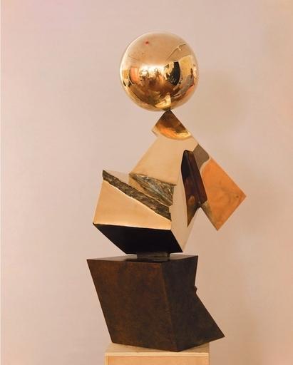 Luis FEITO LOPEZ - Skulptur Volumen - Sin titulo