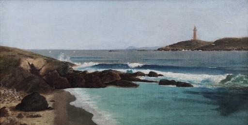 Juan Tomás MARTÍNEZ ABADES - Pintura - Ensenada coruñesa
