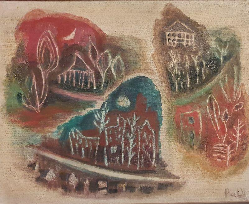 Israel PALDI - Painting - Israeli Landscapes
