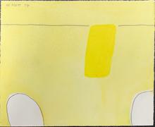 William SCOTT - Dibujo Acuarela - Still Life Abstracted 1st Theme, Number XVIV/L
