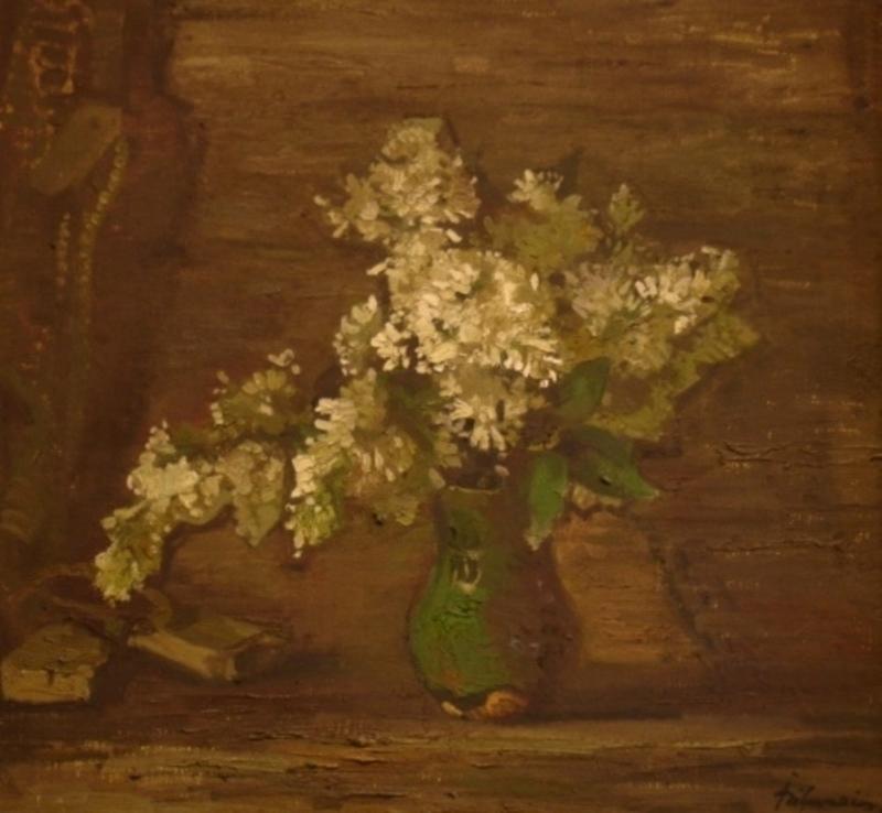 Julijs VILUMAINIS - Peinture - White lilac