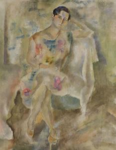 Jules PASCIN - 绘画 - Mija