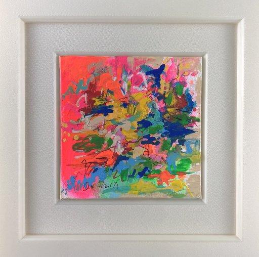 Nicole LEIDENFROST - Gemälde - Sommer am Wasser