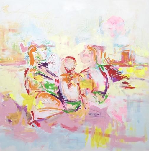 Nicole LEIDENFROST - Gemälde - Vorm Strandcafé