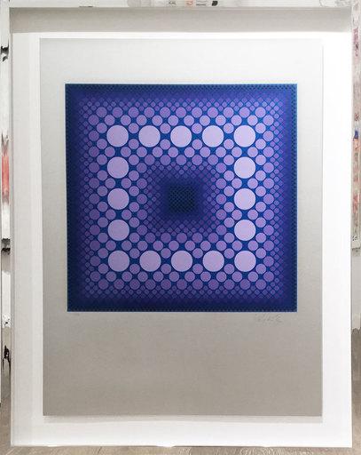 Victor VASARELY - Print-Multiple - Corona