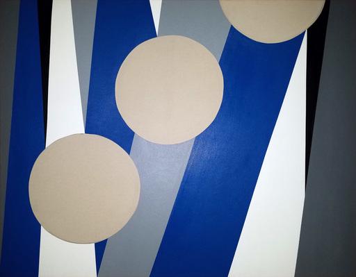 José Angel ROSABAL FAJARDO - Peinture - Composicion Ascendente Desendente n.d.