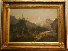 Jules DUPRÉ - Painting - Paisaje Animado