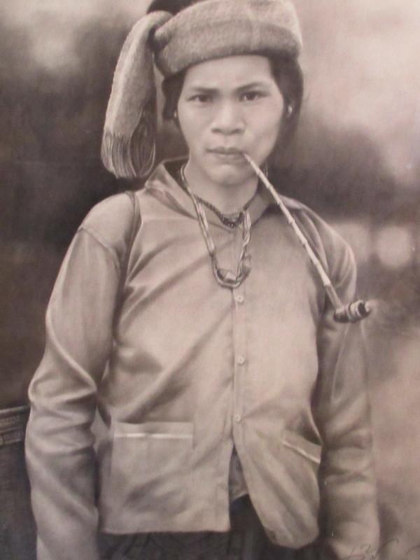 NGUYEN BAO HA - Dibujo Acuarela - Type vietnamien