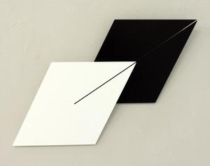 Gerhard FRÖMEL - Sculpture-Volume - Doppellinie