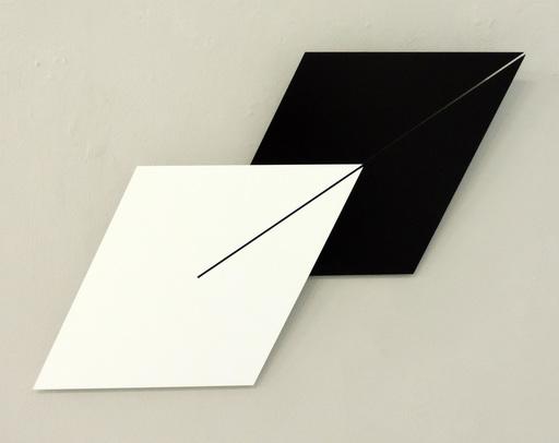 Gerhard FRÖMEL - Skulptur Volumen - Doppellinie