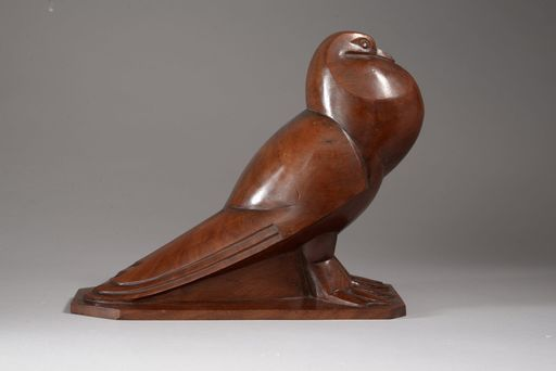 Jan & Joël MARTEL - Skulptur Volumen - PIGEON A QUEUE PLATE